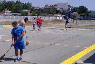 Borča basket - Kavez