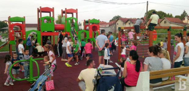 Novo igralište za decu