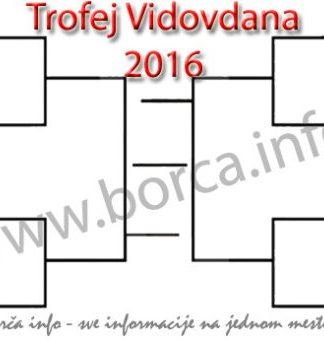 Trofej Vidovdana 2016 - rezultati