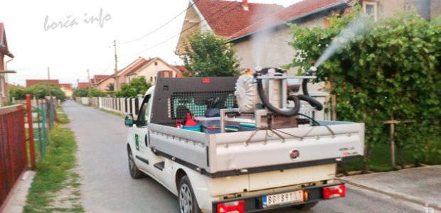 Zaprašivanje komaraca Borča
