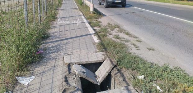 Rupa na trotoaru