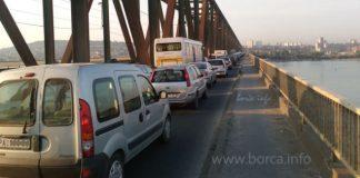 Pančevački most - zastoj