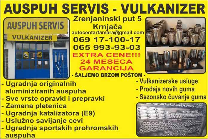auspuh servis - vulkanizer