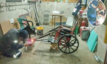 Majstor sale pravi sportska kolica
