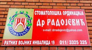 stomatoloska ordinacija dr radojevic