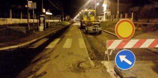 Radovi - ulica Valjevskog odreda