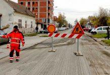Radovi - asfaltiranje - Ivana Milutinovica