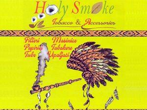 Tobacco Shop - flajer