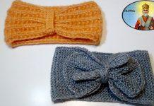 Pletene trake za glavu