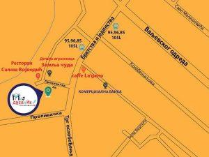 mapa - adresa