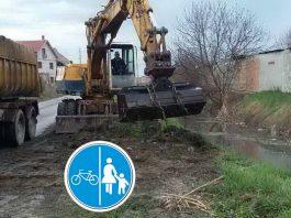 Pripremanje za biciklističku stazu