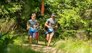 Trčanje kroz šumu