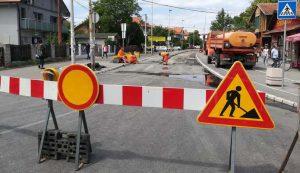 Zatvorena ulica - radovi
