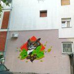 Sova - mural