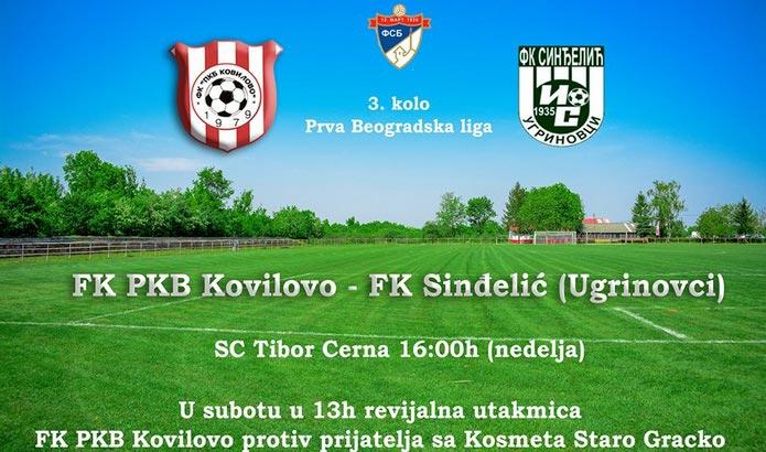 FK PKB Kovilovo - FK Sinđelić Ugrinovci