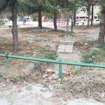 Uništena zelena površina