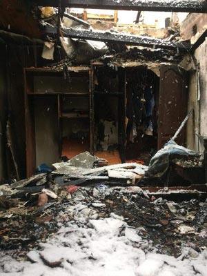 Izgorela kuća