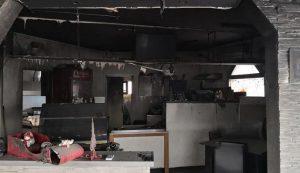 Zapaljen lokal u Kotežu