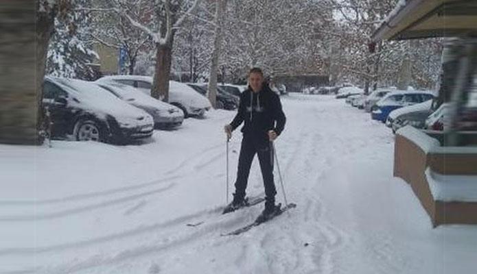 Bane skija u Borči