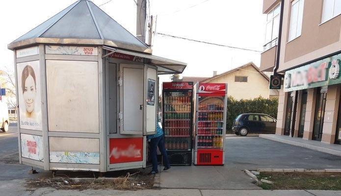 trafika - frižideri
