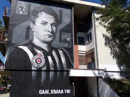 Saša Ilić - Mural u Borči