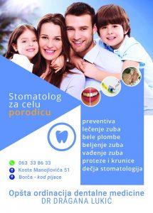 stomatolog za celu porodicu