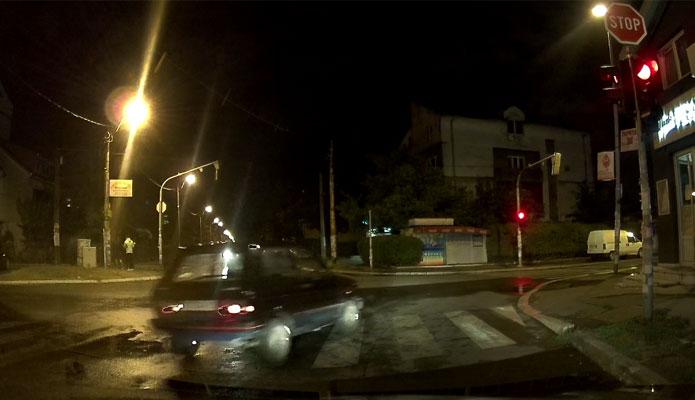 Nesavesna vožnja u Borči